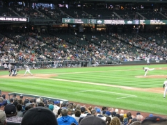 Safeco field - Tigers at Mariners