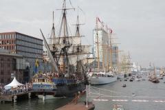 Gotheborg, Esmeralda, Santa Maria Manuela, Alexander von Humboldt II & Stad Amsterdam
