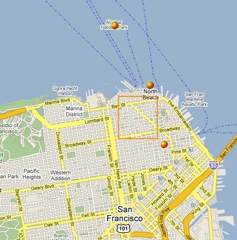 SF City map