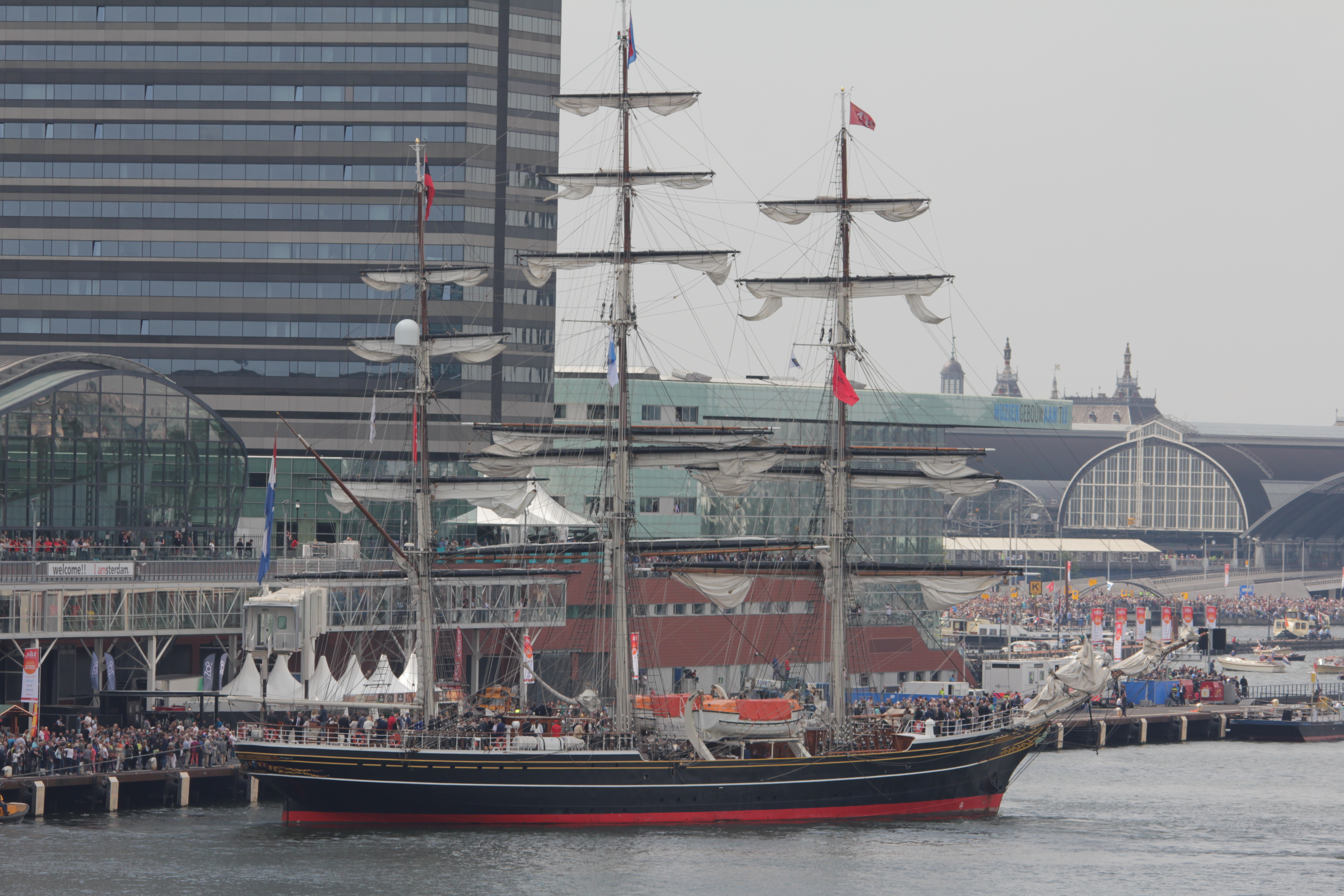 Sail 2015 intocht
